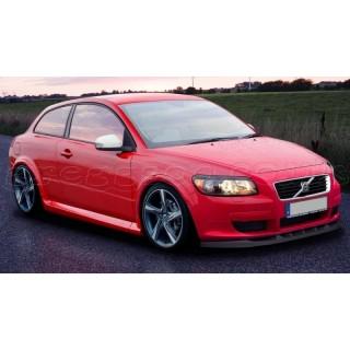 Volvo C30 Custom Front Bumper Lip Spoiler Extension