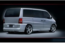 Mercedes Vito W638 Custom Side Skirts
