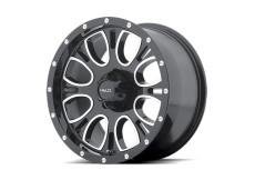 "Alloy Wheel 17"" x 9 HELO Model 879 Black 5x127 ET 18"