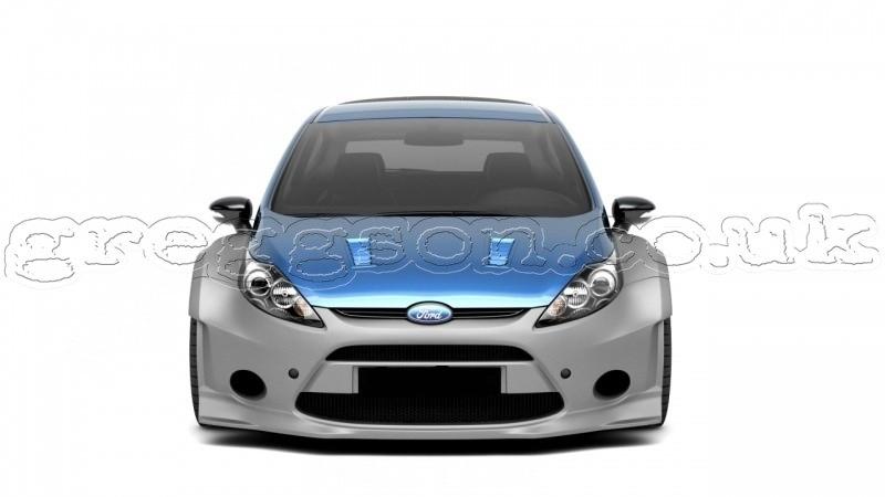 Custom Smart Car >> Ford Fiesta Mk7 3D Preface (2008 - 2013) Custom Rally Body Kit