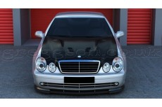 """Mercedes CLK Class W208 Standard Versions (1997 - 2003) Custom Front Bonnet """"AMG Look"""""""