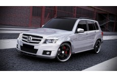 Mercedes GLK W204 Standard Version (2008-2012) Custom Front Bumper Lip Spoiler Extension