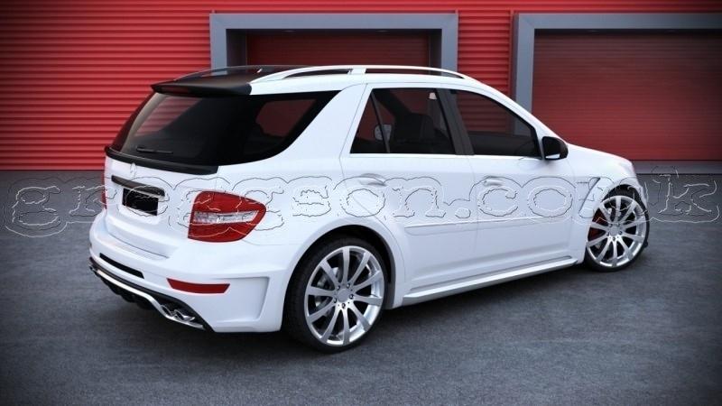 Santa Fe BMW >> Mercedes ML W164 Standard Facelift Version (2008 - 2011 ...