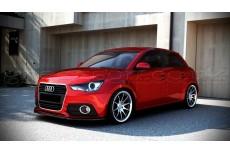 Audi A1 8X (2010 - 2013) Custom Front Bumper Lip Spoiler Extension
