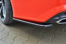Audi A7 S Line Facelift (2014 -) Custom Rear Side Splitters