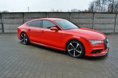Audi A7 S Line Facelift (2014 -) Custom Side Skirts Diffusers