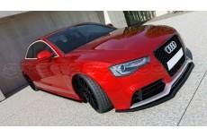 Audi RS5 Facelift (2011-) Custom Front Bumper Lip Spoiler Extension