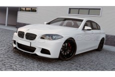 BMW F10 M Pack (2011 -) Custom Front Bumper Lip Spoiler Extension