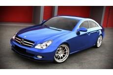 Mercedes CLS W219 Standard Pre Face (2004 - 2008) Custom Front Bumper Lip Spoiler Extension