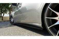 Mercedes CLS W219 (2004 - 2010) Custom Side Skirts Diffusers