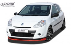 Renault Clio 3 Phase 2 (not RS) Front Bumper Lip Spoiler Extension Splitter