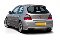 MG ZR (2004-2005) Custom Rear Bumper Spoiler Extension