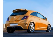 Opel Vauxhall Corsa D OPC Hatchback 3D (2006-2014) Custom Roof Spoiler