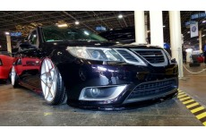 Saab 9-3 Turbo X (2007-2011) Custom Front Bumper Spoiler Extension Splitter