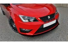 Seat Ibiza 6J Cupra Facelift (2013 -) Custom Front Bumper Spoiler Extension Splitter
