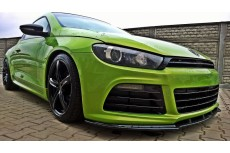 Volkswagen Scirocco R Mk3 For R Line (2008-2014) Front Bumper Lip Spoiler Extension