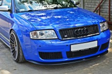 Audi RS6 C5 (2002 - 2004) Custom Front Bumper Lip Spoiler Extension