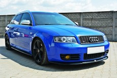 Audi S4 B6 (2003 - 2005) Custom Front Bumper Lip Spoiler Extension