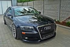 Audi S8 D3 (2006 - 2010) Custom Front Bumper Lip Spoiler Extension