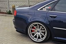 Audi S8 D3 (2006 - 2010) Custom Rear Bumper Side Splitters