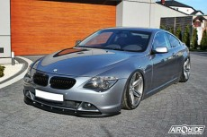 BMW E63 Front Bumper Lip Spoiler Extension