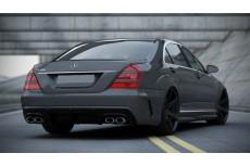 Mercedes W221 (2005 - 2013) Custom Rear Bumper (Look W205)