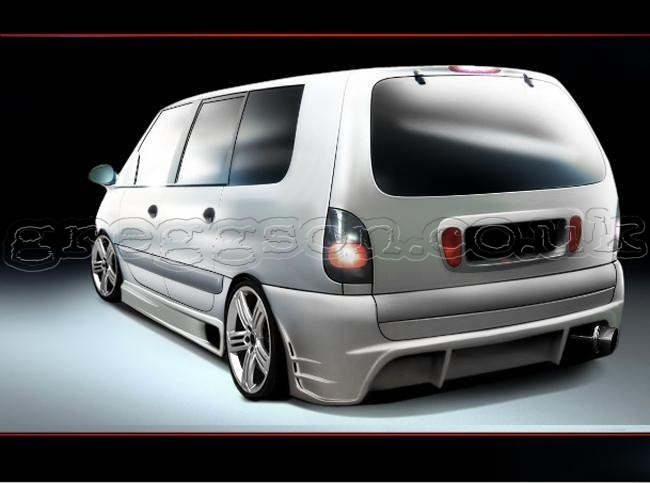 custom rear bumper for renault espace mk3. Black Bedroom Furniture Sets. Home Design Ideas