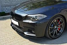 BMW F10 F11 M Pack (2011 -)  Custom Front Bumper Lip Spoiler Extension Diffuser