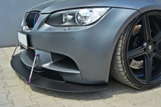 BMW M3 E92 / E93 Coupe & Cabrio 2007-2013 Custom Racing Front Bumper Lip Spoiler Extension Diffuser