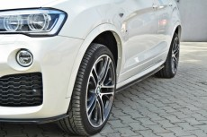BMW X4 F26 M Pack (2014 -) Custom Side Skirts Diffusers