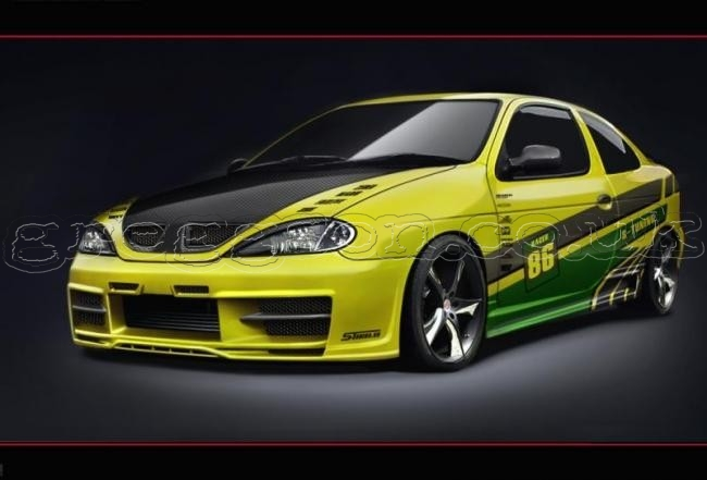 custom side skirts for renault megane mk1 phase 2 coupe. Black Bedroom Furniture Sets. Home Design Ideas