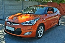 Hyundai Veloster (2011 -) Custom Set Of Splitters Diffusers