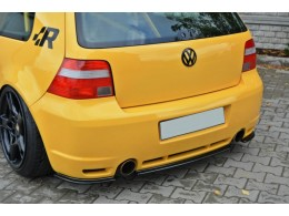Volkswagen Golf Mk4 R32 (2002-2004) Central Rear Bumper Diffuser Valance Extension