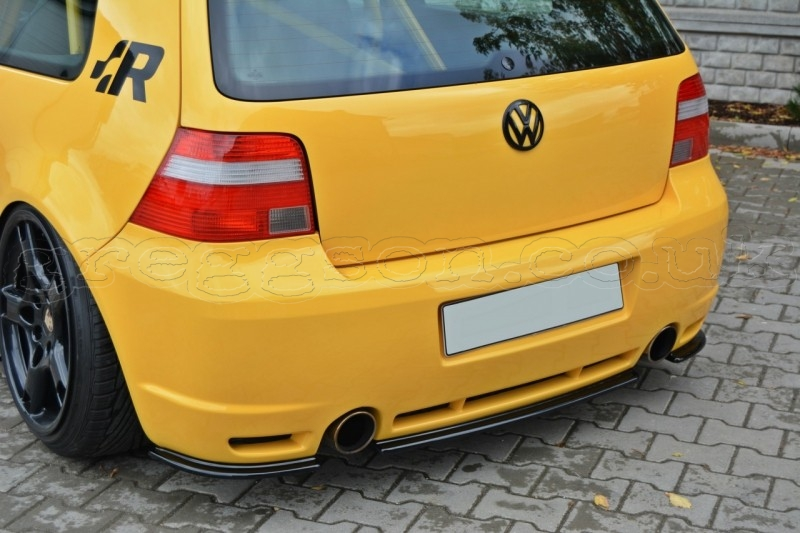 volkswagen golf mk4 r32 2002 2004 central rear bumper. Black Bedroom Furniture Sets. Home Design Ideas