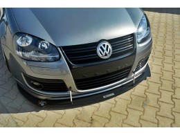 Volkswagen Golf Mk5 GTI 30TH (2003 - 2008) Custom Racing Front Bumper Lip Spoiler Extension Diffuser