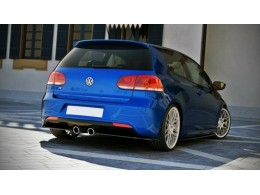 Volkswagen Golf Mk6 R (2008-2012) Rear Bumper Diffuser Valance Extension