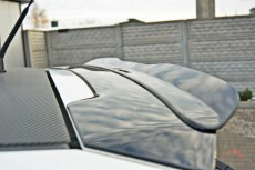 Fiat Grande Punto ABARTH (2007-2010) Custom Rear Spoiler Cap Extension
