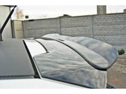 Fiat Grande Punto ABARTH (2007-2010) Custom Rear Spoiler Cap Extension