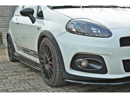Fiat Grande Punto ABARTH (2007-2010) Custom Side Skirts Diffusers