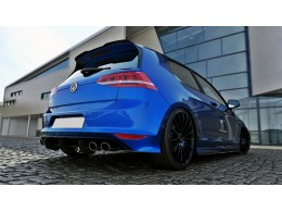 Volkswagen Golf Mk7 R Hatchback (2013 -) Rear Bumper Diffuser Valance Extension