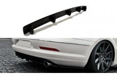 Volkswagen Passat CC R36 R Line Preface (2008-2012) Central Rear Bumper Diffuser Valance Extension WITH VERTICAL BARS)