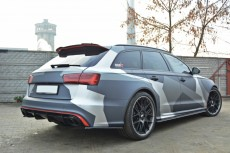 Audi RS6 C7 (2013 -) Custom Rear Spoiler Cap Extension
