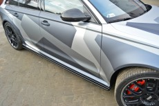 Audi RS6 C7 (2013 -) Custom Side Skirts Diffusers