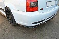 Audi RS4 B5 (1999-2001) Central Rear Bumper Diffuser Valance Extension (WITH A VERTICAL BAR)