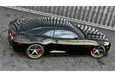 Chevrolet Camaro 5 SS Europe Version Preface (2009-2013) Custom Side Skirts Diffusers