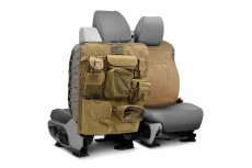 Front Pair Seatback Covers Tan Smittybilt G.E.A.R Off Road Universal