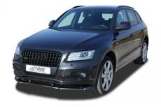 Audi Q5 (-2012 & 2012) (S-Line Front Bumper) Front Bumper Lip Spoiler Extension Splitter Diffuser