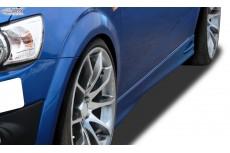 """Chevrolet Aveo (T300) Custom Side Skirts """"GT4"""""""