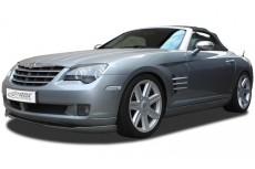 Chrysler Crossfire Front Bumper Lip Spoiler Extension Splitter Diffuser