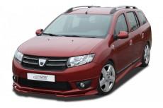 Dacia Logan 2 (incl. MCV) Front Bumper Lip Spoiler Extension Splitter Diffuser
